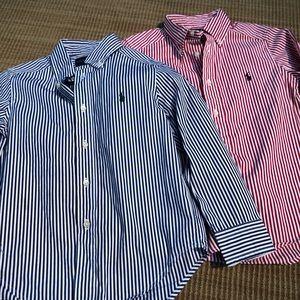 Ralph Lauren button down collared shirts bundle